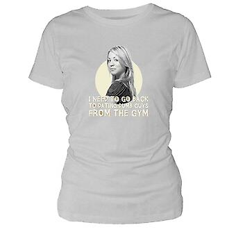 Penny From The Gym Woman'S T-Shirt S The Big Bang Theory