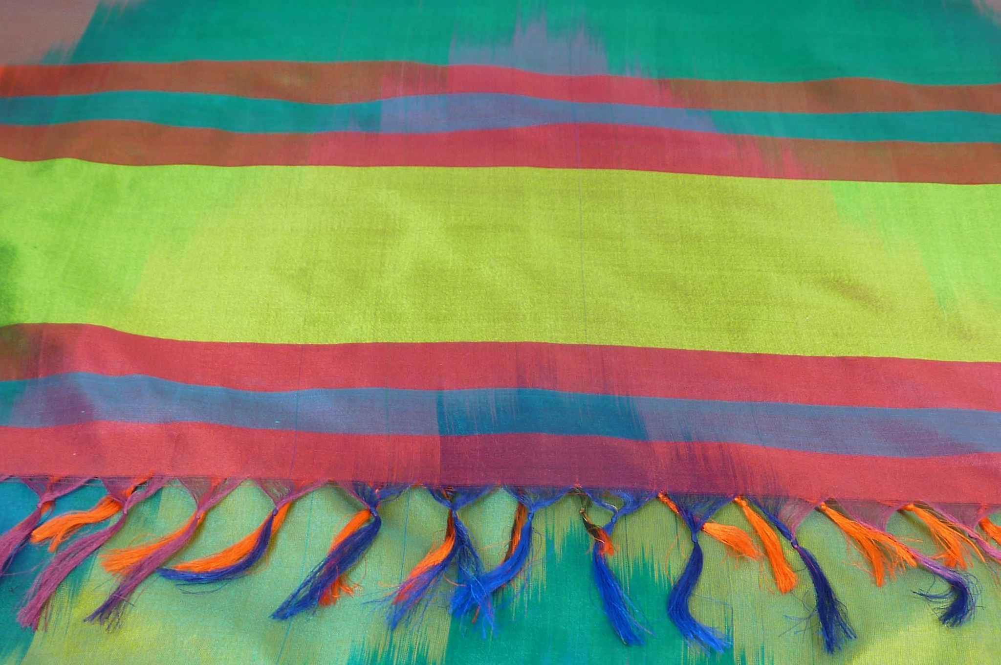 Varanasi Ekal Premium Silk Long Scarf Heritage Range Bera 3 by Pashmina & Silk