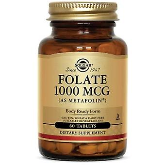 Solgar folat 1000 mcg (som Metafolin) tabletter 120ct