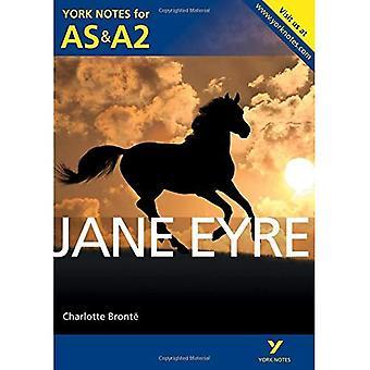 Jane Eyre: York noterar för AS & A2 (York Anteckningar Avancerad)