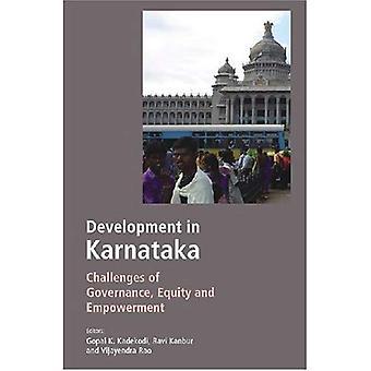 Kehityksen Karnataka: haasteet hallinnon, oman pääoman ja vaikutusmahdollisuuksia