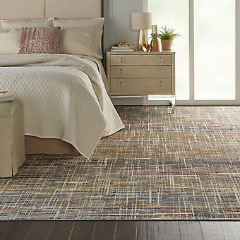 Radiant Nourison RAD11 Ivory Multi  Rectangle Rugs Funky Rugs