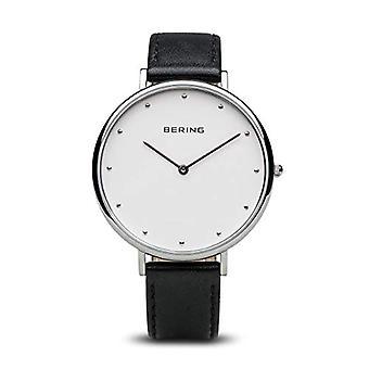 Bering Quartz analogue watch with leather bracelet 14839-404