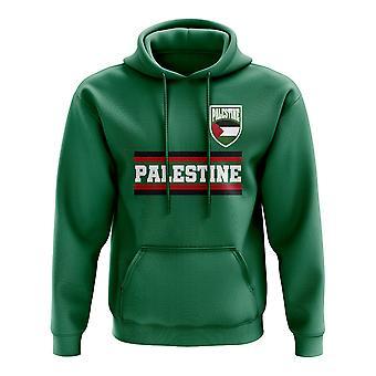 Palästina Kern Fußball Land Hoody (grün)