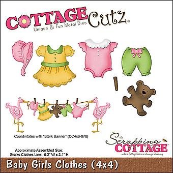 Cottagecutz Dies-Baby Girl kläder/
