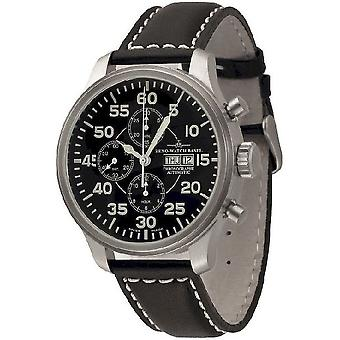 Зенон часы Часы OS экспериментального Chrono наблюдателя 8557TVDD-OB-А1