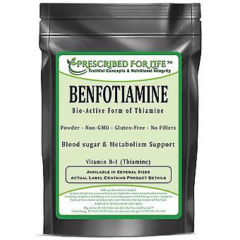 بنفوتيامين - شكل نشط بيولوجيا من الثيامين - فيتامين ب-1 مسحوق
