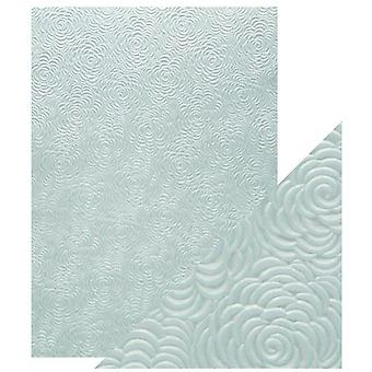 Craft Perfect by Tonic Studios A4 Hand Crafted Paper Iced Petals | Pack of 5