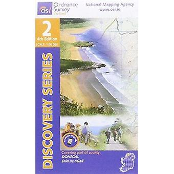 Donegal (North and Central) (4th Revised edition) by Ordnance Survey