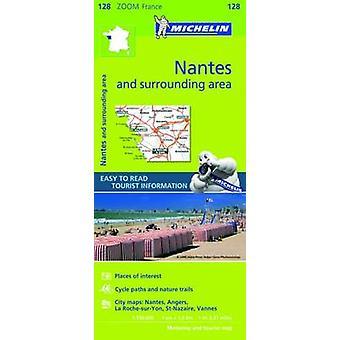 Nantes & Surrounding Areas Zoom Map 128 - 9782067212022 Book