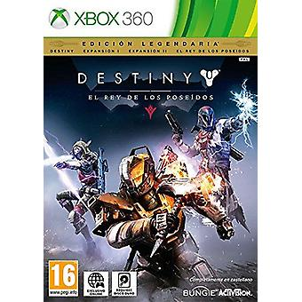 Destiny The Taken King Xbox 360 Game (Spanish Box - Multiple Languages In Game)