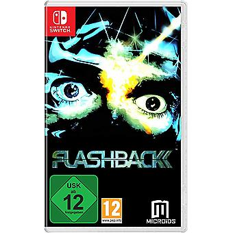 Flashback 25 ° anniversario gioco Nintendo switch