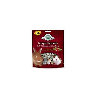 Oxbow Simple Rewards Cranberry Baked Small Pet Treats