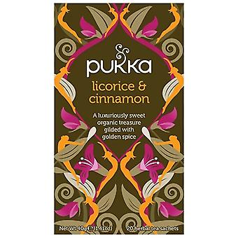 Pukka Licorice & Cinnamon Tea Bags 80
