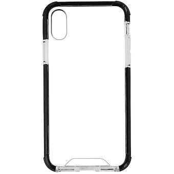 Verizon Hybrid Cover for iPhone X - Clear/Black