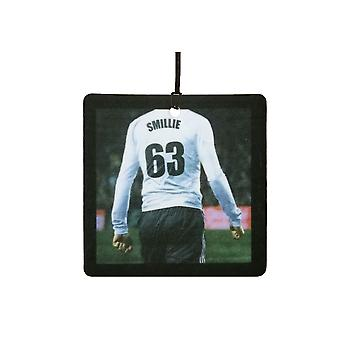 Custom Football / Soccer Player (White, Black) Car Air Freshener