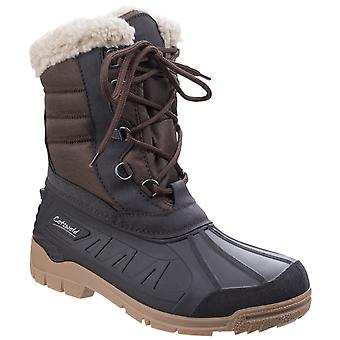 Cotswold Womens Coset Weather Boot Brown