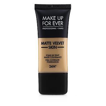 Make-up voor ooit mat fluweel huid volledige dekking Foundation-# Y335 (donker zand)-30ml/1oz