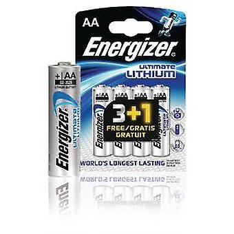 Energizer Bateria de lítio Aa 1.5 V Ultimate 4-Promotional Blister (DIY , Eletricidade)