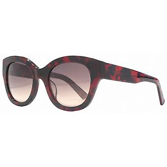 French Connection Premium Cat Eye Sunglasses - Red/Black