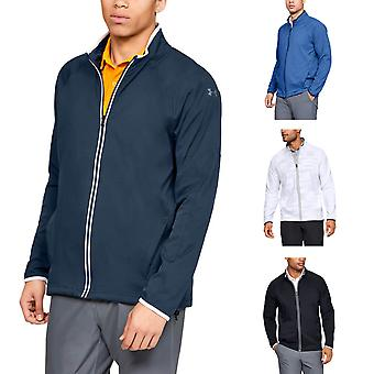 Under Armour Mens UA Golf Storm Windstrike FZ Veste répulsive à l'eau