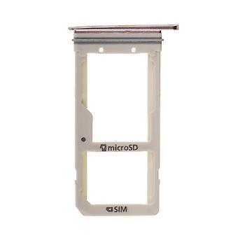 For Samsung Galaxy S7 Edge - SM-G935 - SIM Card Tray - Rose