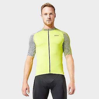 New Gore Men's C5 Optiline Cycling Jersey Green