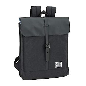 Boys' Backpack Blackfit8 Black & Black Official - For Portable 14'1