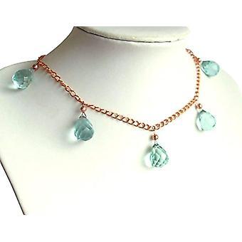 Gemshine Gold-plated Woman Pendant Necklace - Cbagr
