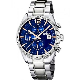Festina Men's Watch F16759/5 Chronographs