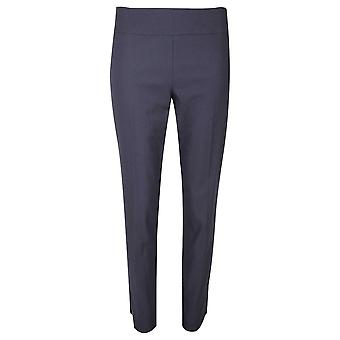 Up! Navy Up! Pull On Trousers Petal Split