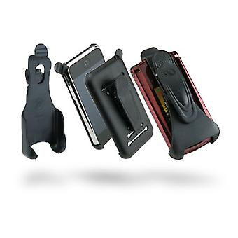 Phoenix Belt Clip Holster for LG AX355 - Black