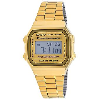 Casio Uomini's Vintage Gold Dial Watch - A168WG-9BWVT