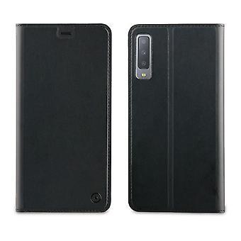 Case para Samsung Galaxy A7 (2018) Suporte de cartão preto