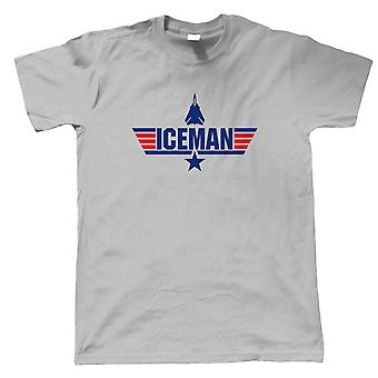 Iceman Top Gun Film Inspirerad, Mens T-Shirt - Gift Honom Pappa
