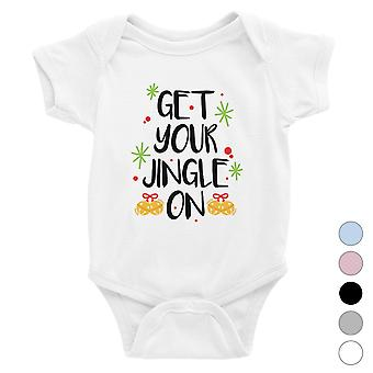 Get Your Jingle On Baby Bodysuit Funny Christmas Gift for Holiday