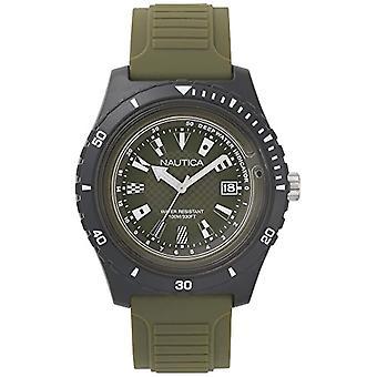 Nautica Analogueico Watch quartz men with Silicone strap NAPIBZ009