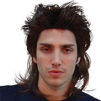 Bnov Mullet Wig Black