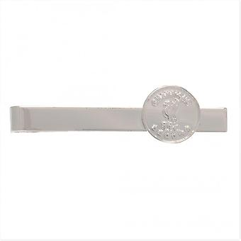 Liverpool FC Champions Of Europe Silver Plated Tie Slide