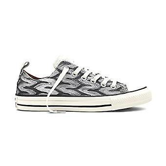 Converse Womens Converse X Missoni Low Top Lace Up Fashion Sneakers