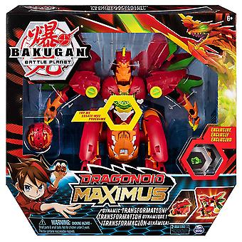 BAKUGAN Dragonoid Maximus 20.3cm Transforming Figure with Lights and Sounds