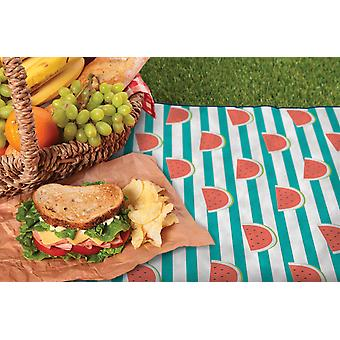 Country Club Picnic Blanket with Bag, Watermelon