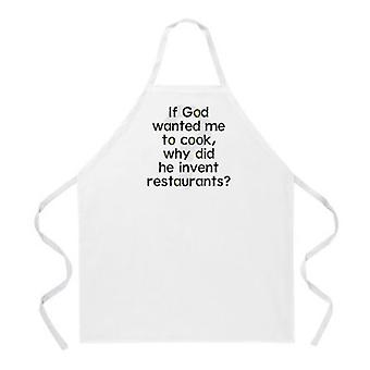 Inventer le tablier des restaurants
