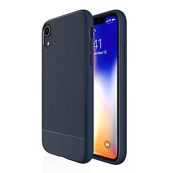 For iPhone XR Case, Blue Snap Armor Shock Proof Slim Protective Phone Cover