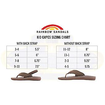 Rainbow Sandals Kid's Cape Molded Rubber Sandal