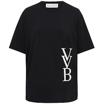 Victoria Beckham 3D Logo T-Shirt