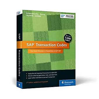 SAP Transaction Codes  Your Quick Reference to Transactions in SAP ERP by Venki Krishnamoorthy & et al