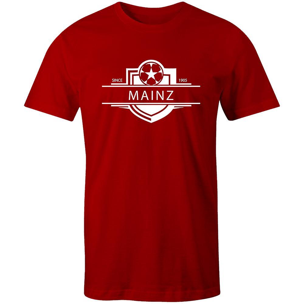 Mainz 1905 Established Badge Football T-Shirt