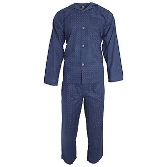 Cargo Bay Mens Woven Tile Pyjama Set
