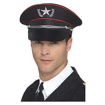 Herren Deluxe militärischer Hut Kostüm Zubehör